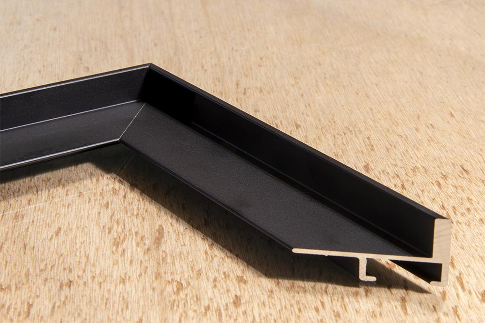 Caisse américaine bois noire